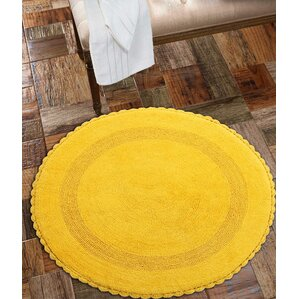 Swanton 100% Soft Cotton Reversible Bath Rug