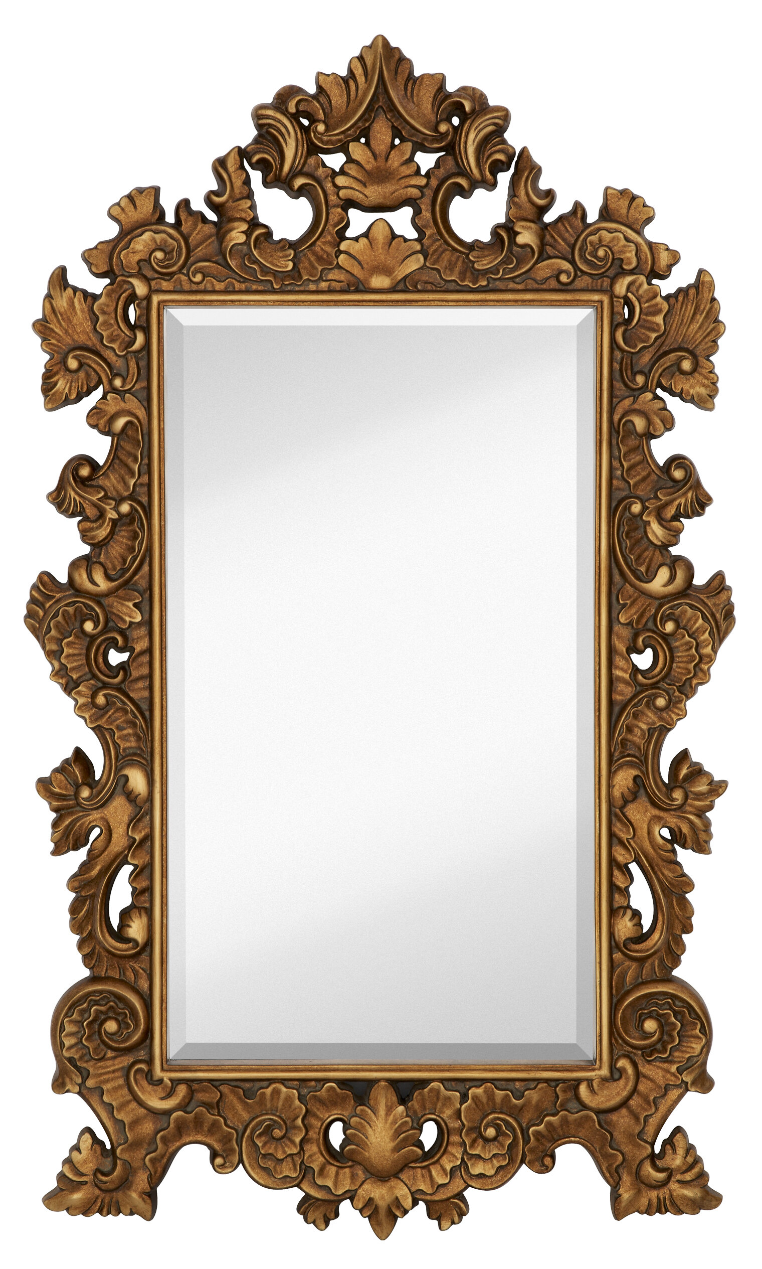 Excellent Majestic Mirror Tall Rectangle Traditional Accent Mirror with  KD28