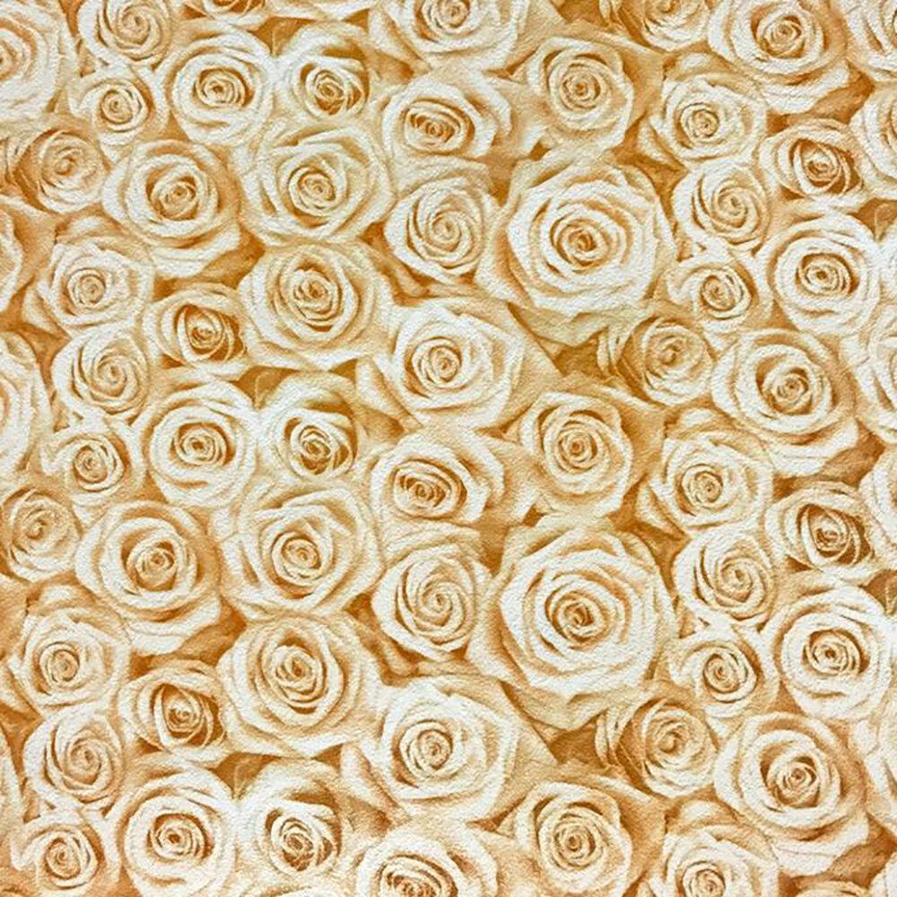 House Of Hampton Alves European Roses Washable Modern Vinyl Non