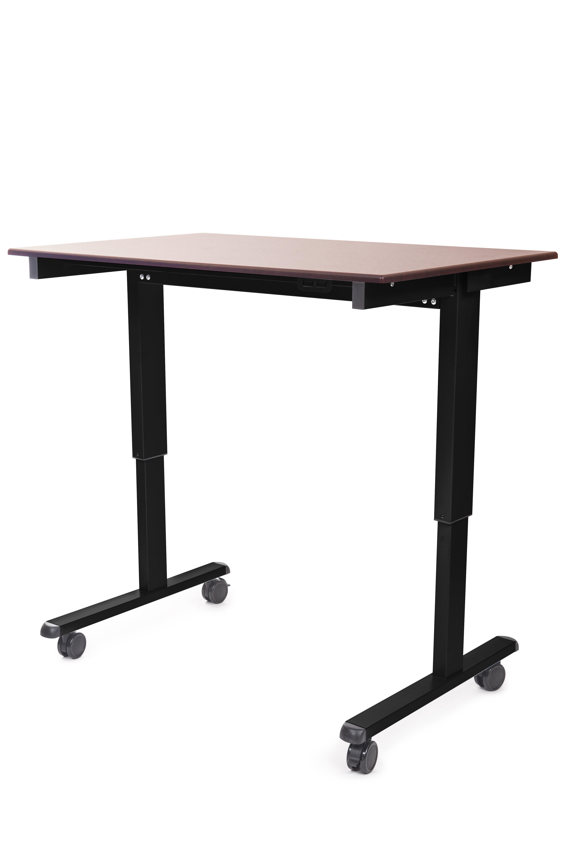 Luxor height adjustable electric standing desk wayfair
