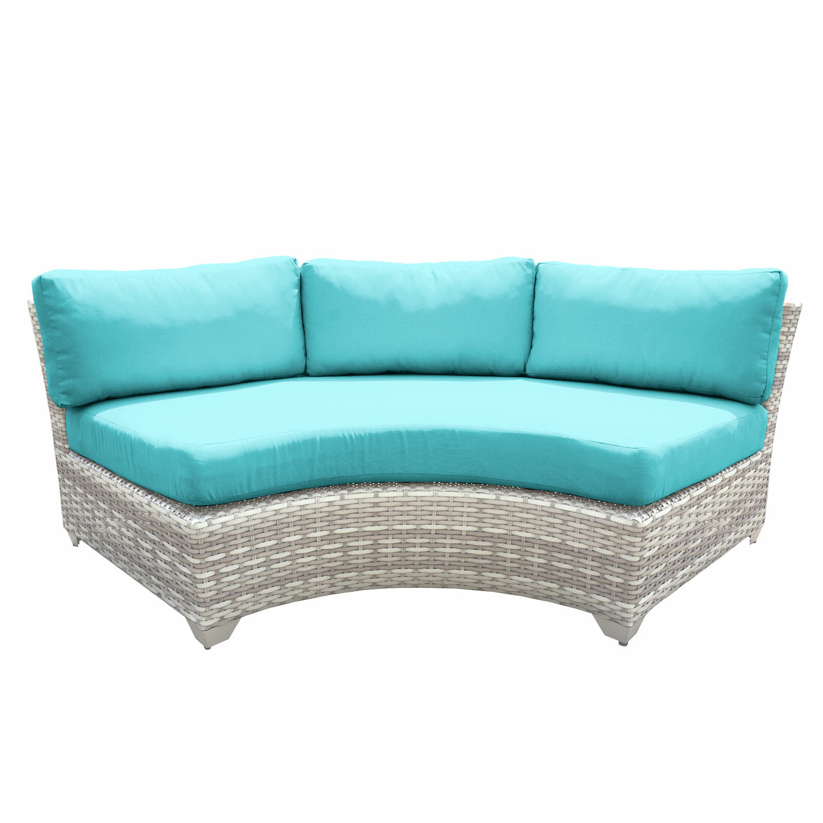 with outdoor conversation set sectional sets you love kenn cushions wayfair patio save sunbrella furniture turquoise pieces ll