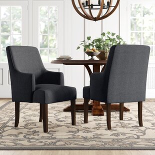 Farmhouse Rustic Upholstered Dining Chairs Birch Lane