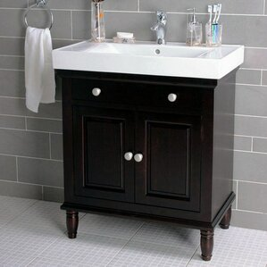 Custom Bathroom Vanities Utah bathroom vanity left side sink | wayfair