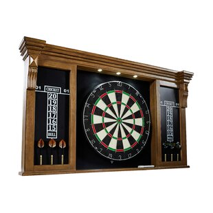 Bristle Dartboard And Cabinet Set