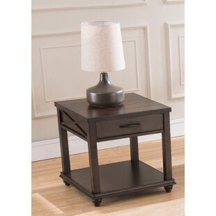 Gracie Oaks Dreyer End Table with Storage