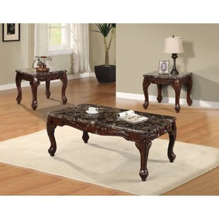 Cannella 3 Piece Coffee Table Set
