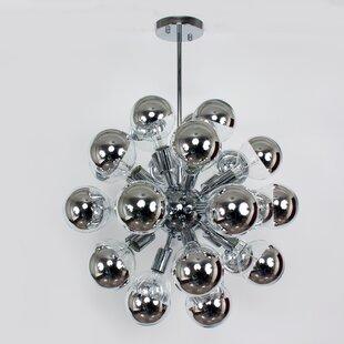 dCOR design The Mercury 29-Light Chandelier