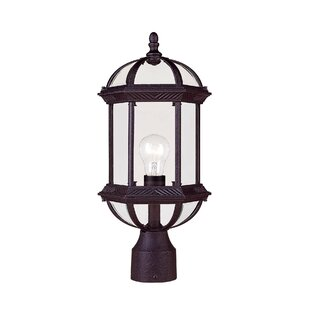 Look for Mayhugh  1-Light Lantern Head By Three Posts