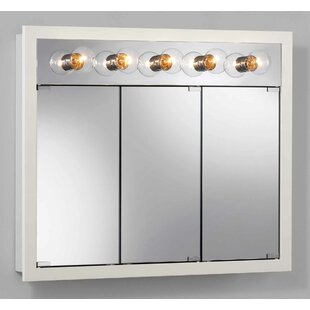 Inexpensive 36 x 30 Surface Mount Medicine Cabinet with Lighting By Jensen