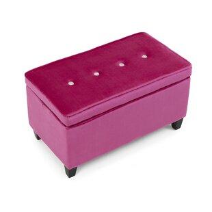 Beebe Upholstered Storage Bench  sc 1 st  Wayfair & Blush Pink Storage Bench | Wayfair