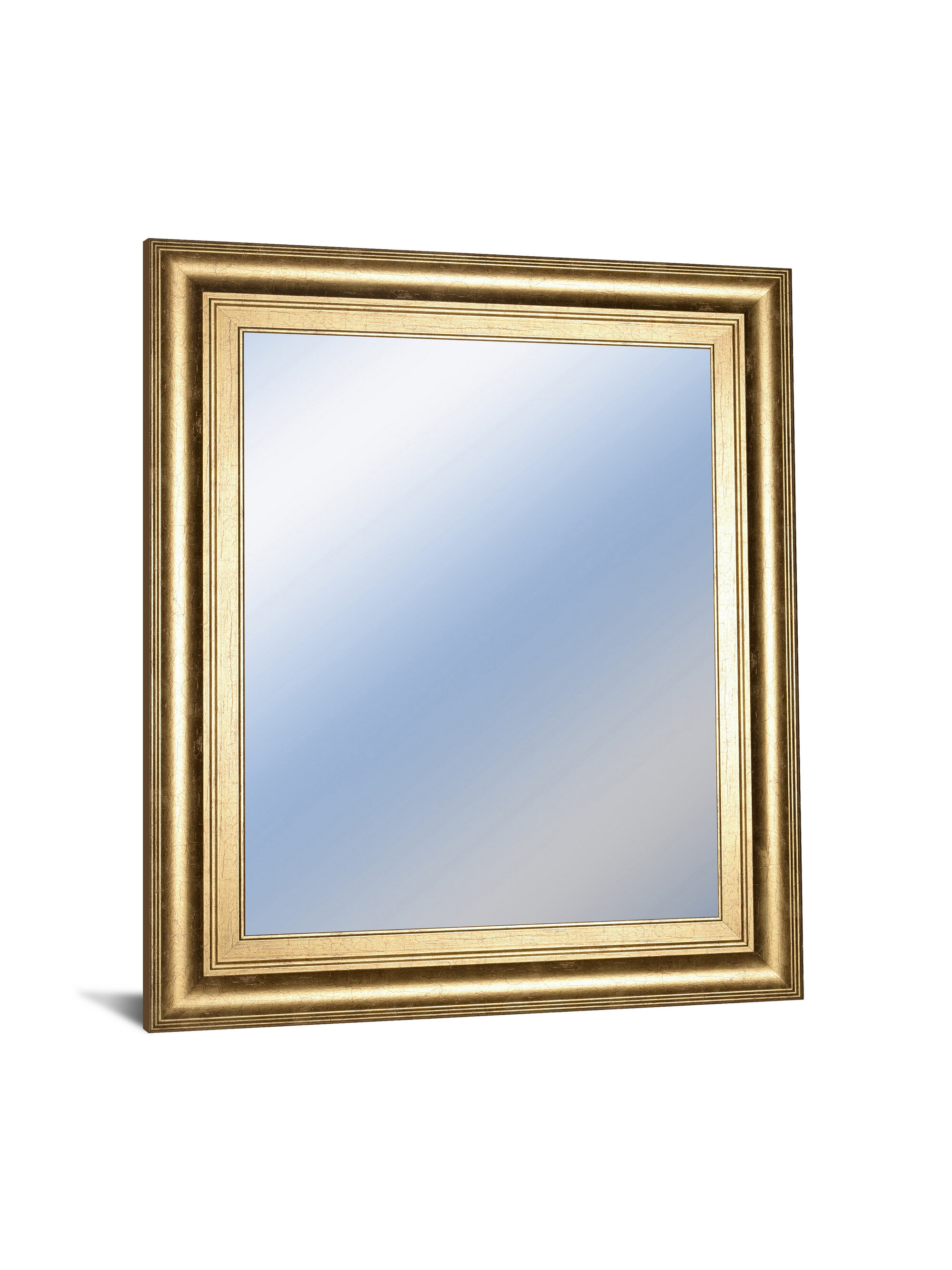 Dedrick Decorative Framed Modern And Contemporary Wall Mirror