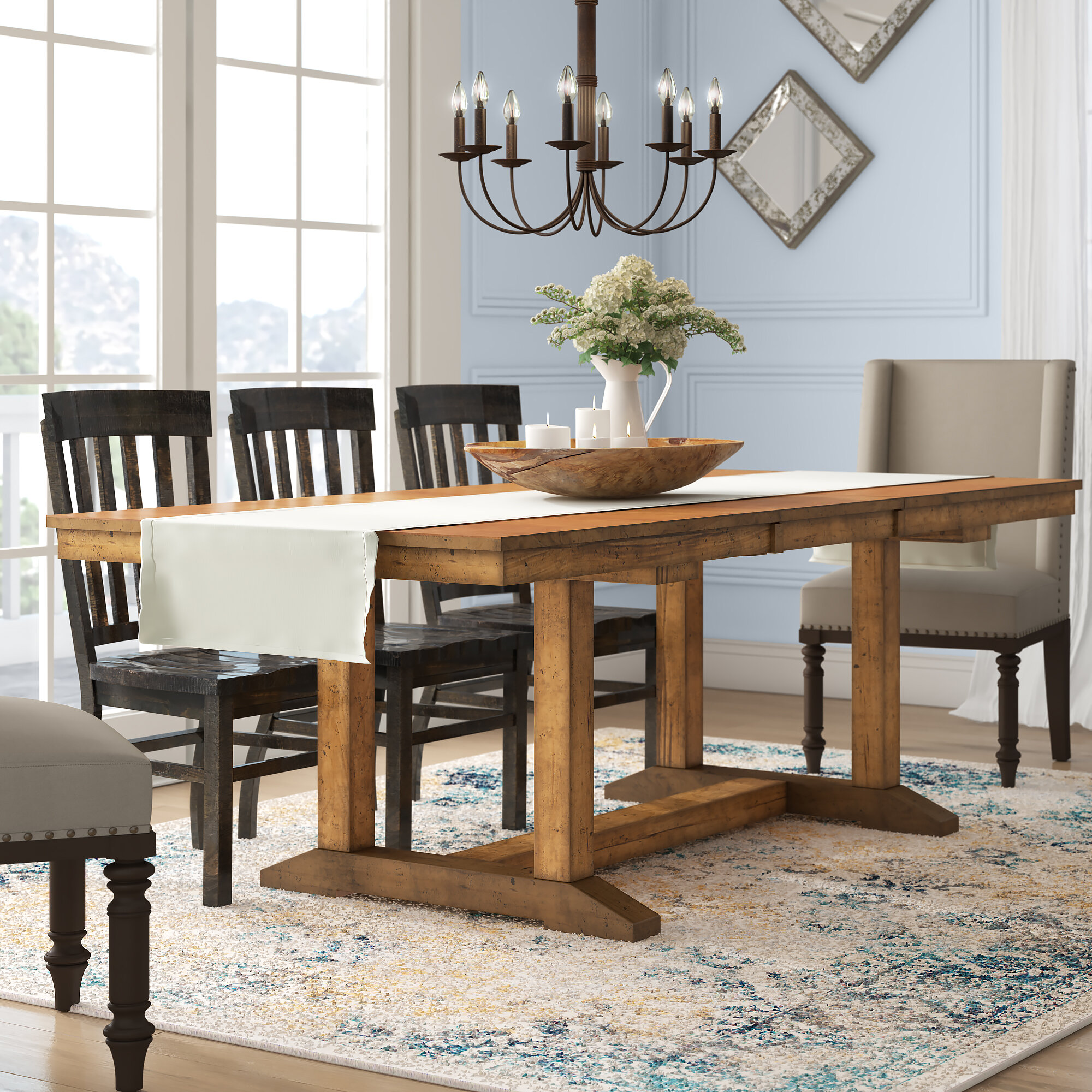 Birch Cottage Country Kitchen Dining Tables You Ll Love In 2021 Wayfair