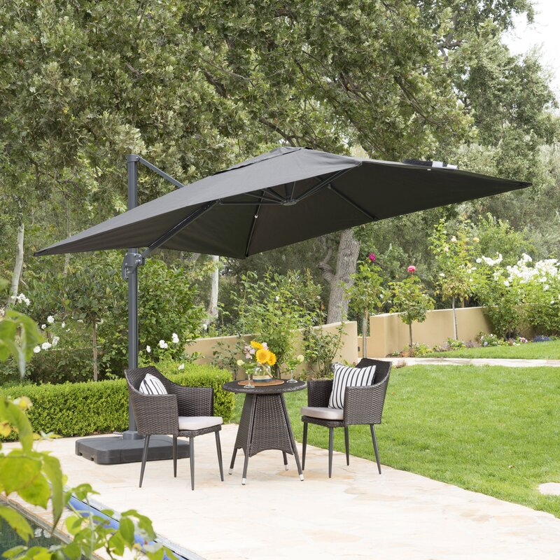 Designed With Both Sunlight And Rain In Mind, This Umbrella From Red Barrel  Studio Boasts Of A Robust Construction. A Metal Frame And Pole Combined  With A ...