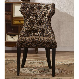 Corzano Designs Traditional Upholstered Dining Chair (Set of 2)
