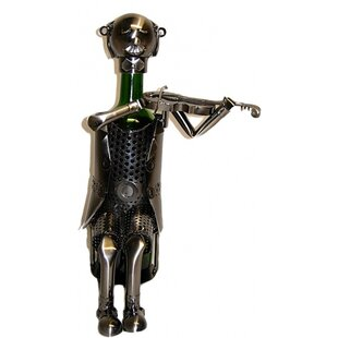 Violinist 1 Bottle Tabletop Wine Rack by ..