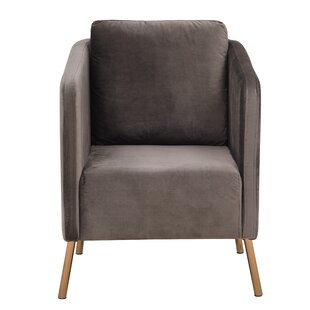 Ordinaire Teal Velvet Armchair | Wayfair