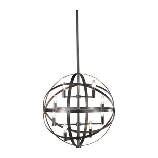 Lucy 8-Light Pendant by Robert Abbey
