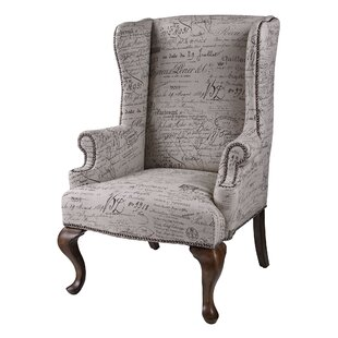 Enno Wingback Chair by One Allium Way