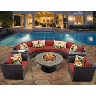 Fire Pit Table Sets Youu0027ll Love | Wayfair