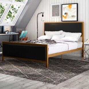 Kara Upholstered Platform Bed