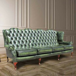 McAlester 4 Seater Chesterfield Sofa By Rosalind Wheeler