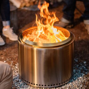 Bonfire Stainless Steel Wood Burning Fire Pit By Solo Stove
