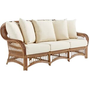 Plantation Sofa With Cushions