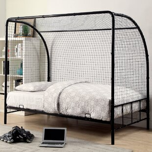 Westford Metal Soccer Goal Bed with Real Nylon Net
