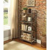 Barbury 49 H x 26 W Metal Etagere Bookcase by Williston Forge