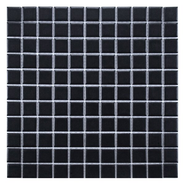 Modern Contemporary Matte Black Tile Allmodern