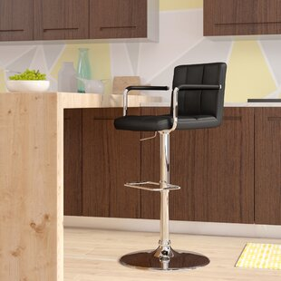 Aripeka Adjustable Height Bar Stool