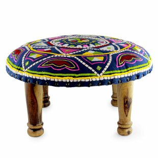 Reeve Rajasthan Galaxy Embroidered Ottoman