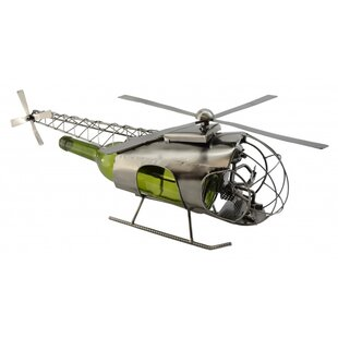 Helicopter 1 Bottle Tabletop Wine Rack by..