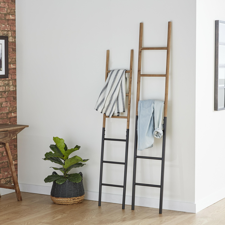 Wood And Metal Blanket Ladder Reviews Joss Main