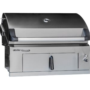 Turbo Built-In Charcoal Grill
