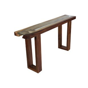 Foundry Select Michaela Live Edge Console Table