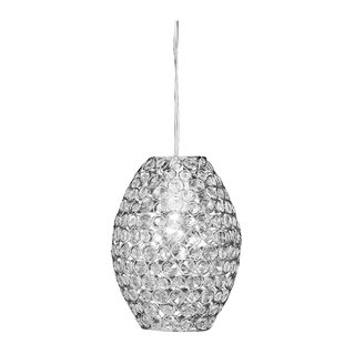 Gleaming 1-Light Crystal P..