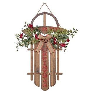 Wooden Sled Decoration Wayfair