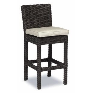 Cardiff 30 Patio Bar Stool with Cushion Sunset West