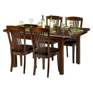 Remsen Extendable Dining Set With 4 Chairs By ClassicLiving