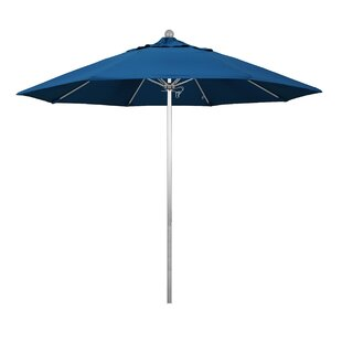 Buyers Choice Phat Tommy Silver Anodized 9' Market Umbrella