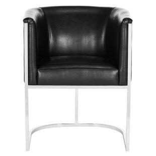 Willa Arlo Interiors Reynaldo Leather Armchair
