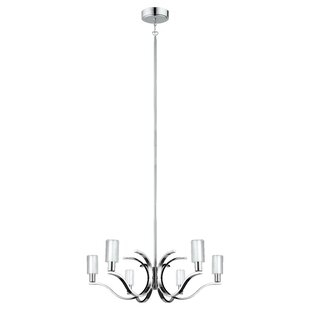 Lindsy 6-Light Shaded Chandelier