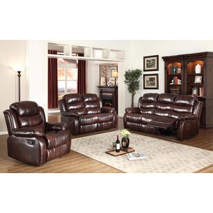 Lindauer 3 Piece Living Room Set by Red Barrel Studio