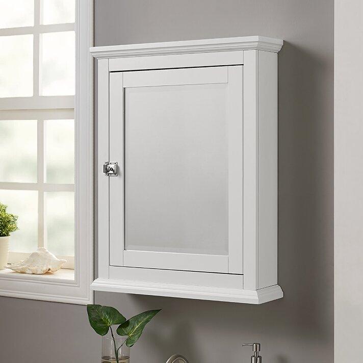 small bathroom mirrors. Pennington 23 62  x 30 Surface Mounted Medicine Cabinet Bathroom Mirrors You ll Love Wayfair