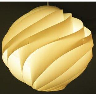 1-Light Pendant Light by California Lighting