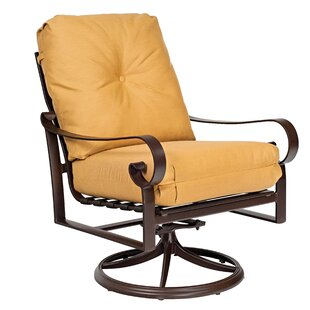 Belden Rocking Swivel Patio Chair by Woodard Reviews
