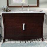 Karter Floor Mount 48 Single Bathroom Vanity Set by Ebern Designs