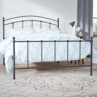 Syston Metal Panel Bed