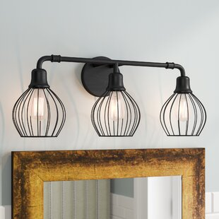 Reviews Krouse 3-Light Vanity Light By Williston Forge